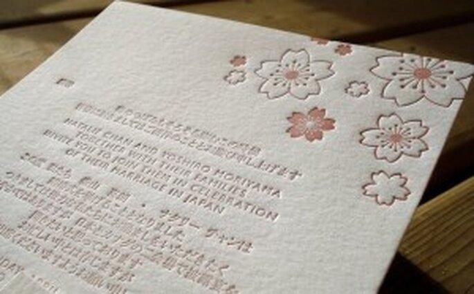 Bilingual Wedding Invitation - Sunlit Letter Press