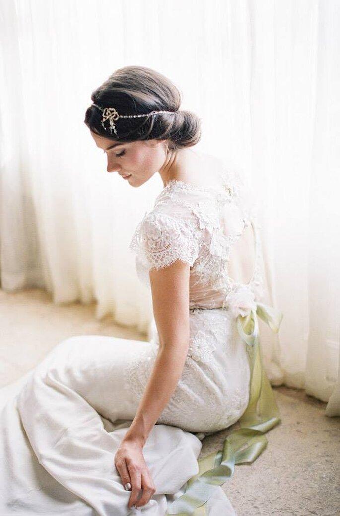 Tendencias en peinados de novia 2015 - Foto Enchanted Atelier
