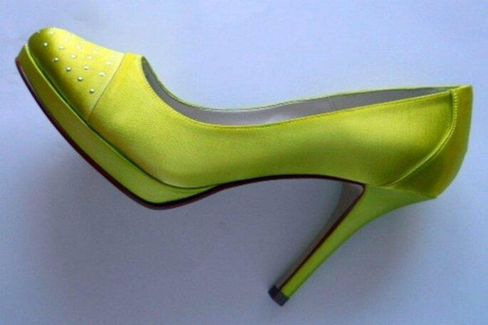 Escarpin Zara anis : top chic ! Crédit photo : Couleur chaussure