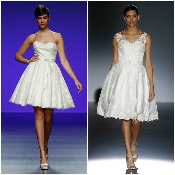 Robes de mariées courtes : Cymbeline, Cabotine
