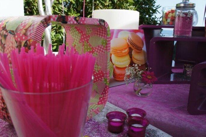 I dolci sono perfetti per mettere allegria in un matrimonio easy. Foto : One Day Event