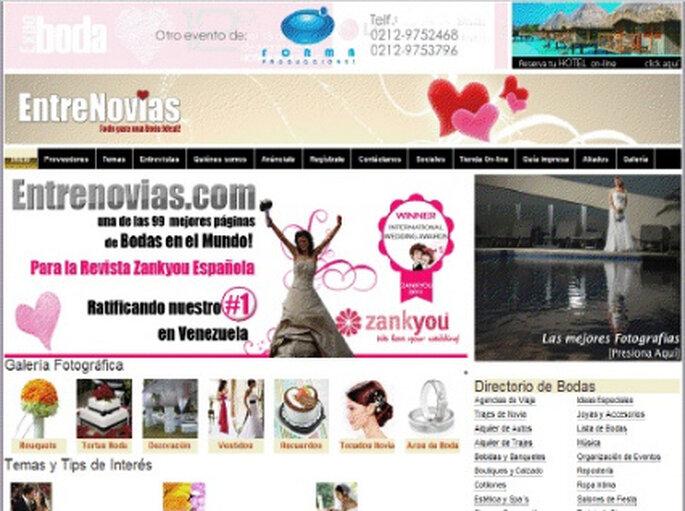 Zankyou Internacional Wedding Awards 2011 a Entrenovias