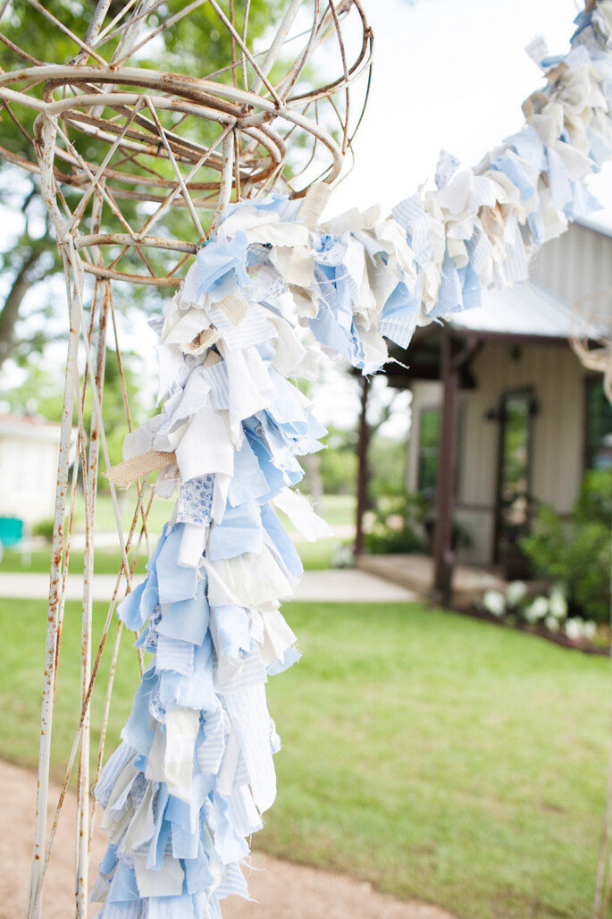 Detalles para una boda shabby chic - Astrid Photography