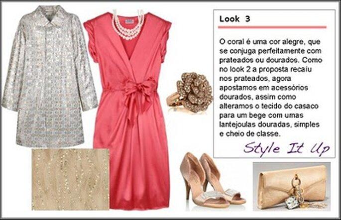 Sugestões Vestidos Mãe da Noiva - Style it Up
