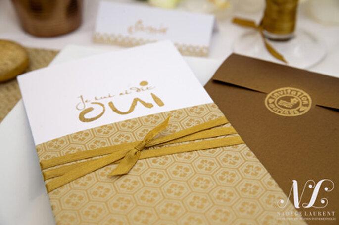 Décoration de mariage personnalisée