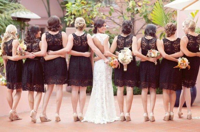 Tendencias en bodas, damas de honor - Fotos: Green Wedding Shoes