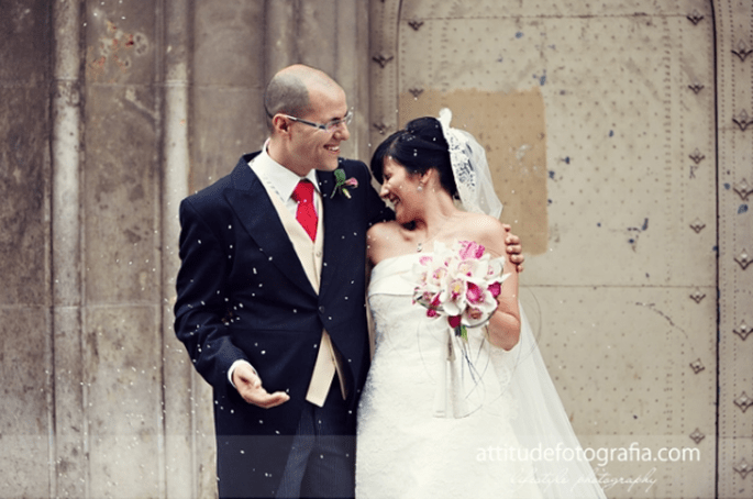 Reis werfen - Eine der geläufigsten Hochzeitstraditionen