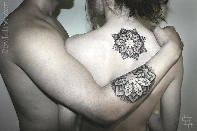 z tattoo geometrica