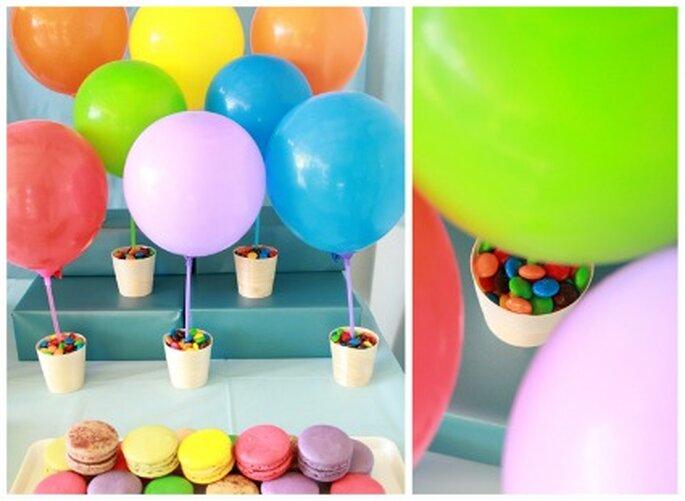 Verres décorés de ballon - Amyatlas.com
