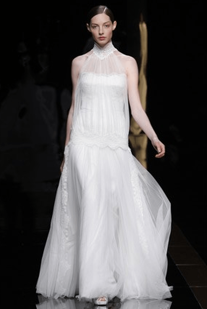 a favorite spanish wedding dress designer rosa clara 2012