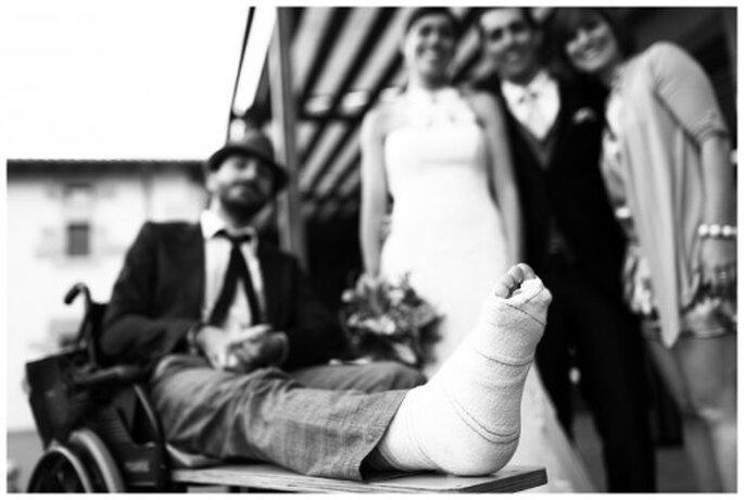 Accesos universales y seguridad para boda. Imagen Roberto y María