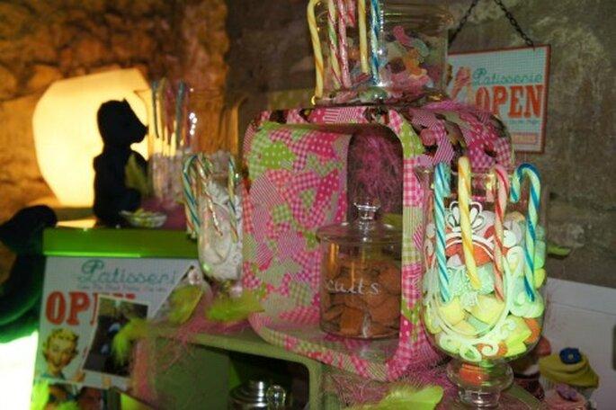 Dolci,biscotti e lecca-lecca ad un matrimonio? Assolutamente sì! Foto : One Day Event