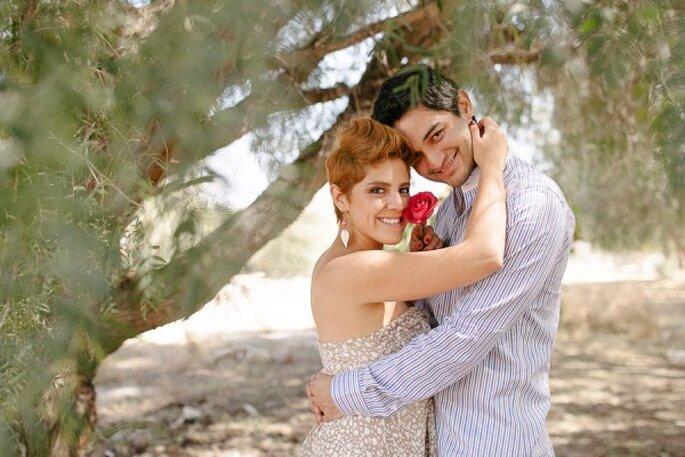 Real Love: E-Session campestre y muy romántica - Foto Arody Sánchez