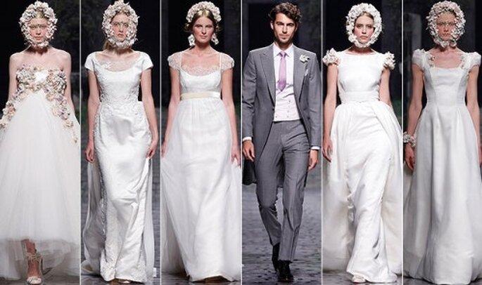 Vestido de novia. Foto de Victorio.