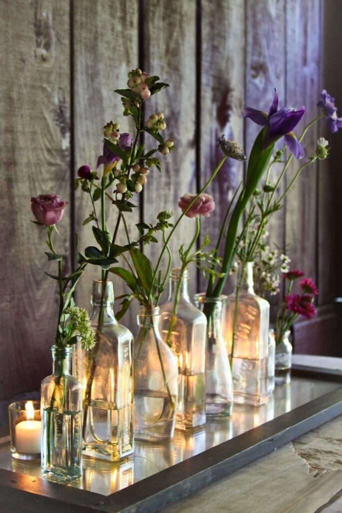 Decoración con vidrio - Austin Gros Photography