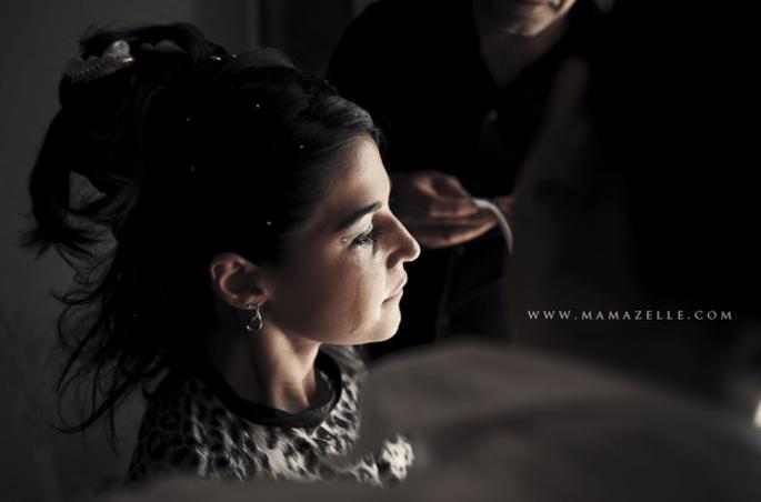 Auf das richtige Make-up kommt es an. Foto: Mélissa Lenoir.