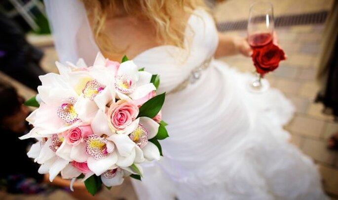 Ramo de novia tendencia 2012. Imagen Natan Fotografia