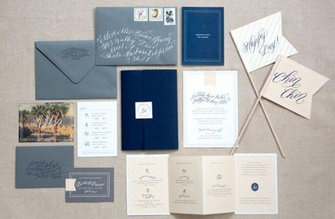 Ideas de la papelería que puedes usar para tu boda. Beaux Arts Photographie