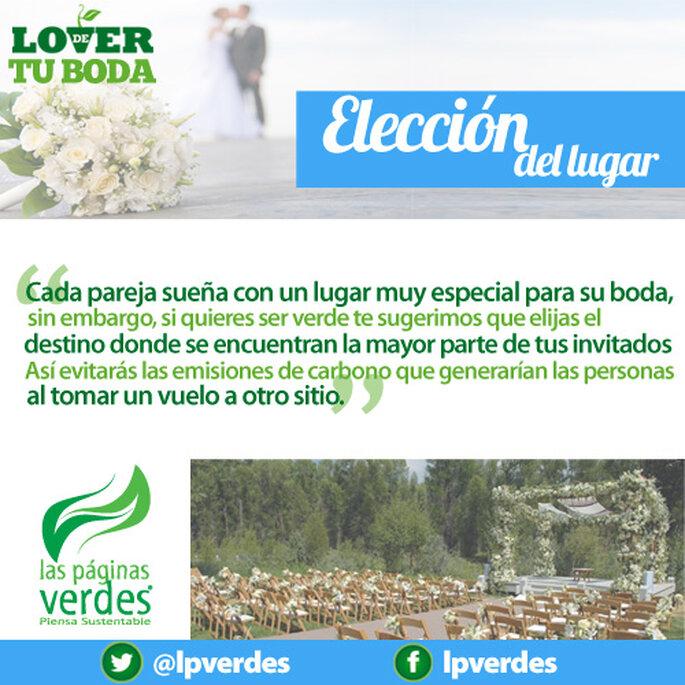 Ecotip. Elección del lugar para una boda ecológica - Foto Las Páginas Verdes