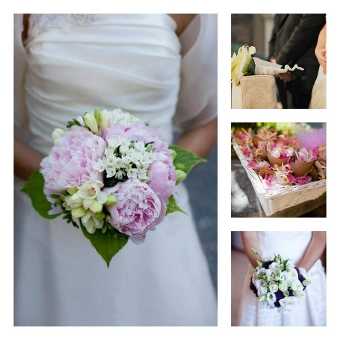 Il bouquet e le decorazioni floreali, alcuni degli elementi più difficili da scegliere. Foto: rossodiseta