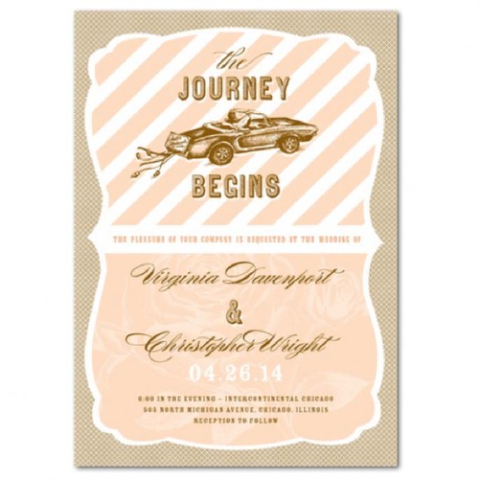 Comprueba que la imprenta realice otros complementos para tus invitaciones - Foto Wedding Paper Divas