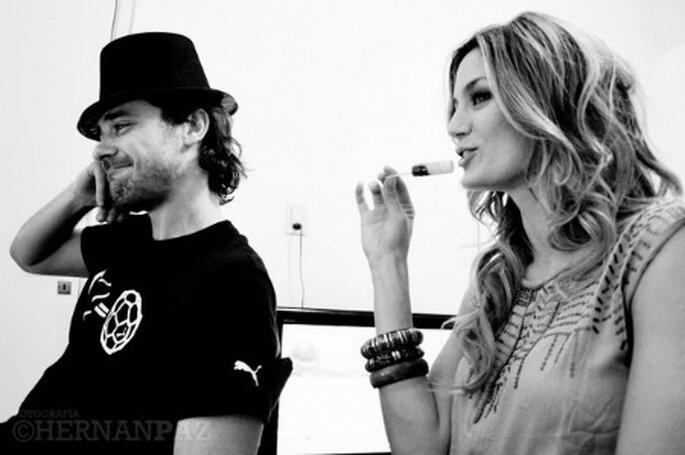 Paula Chaves y Pedro Alfonso - Foto Hernan Paz