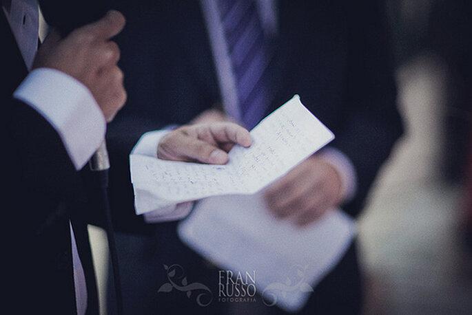 Discours de mariage : tout un art... - Photo : Fran Russo