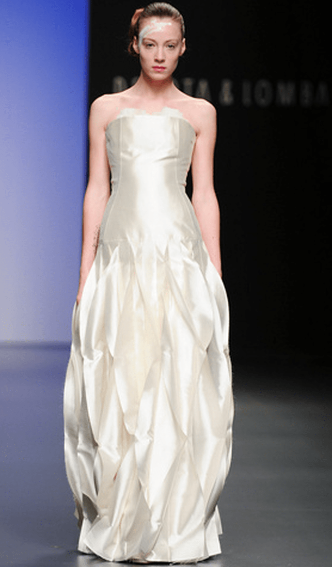 Vestido novia Devota & Lomba 2011