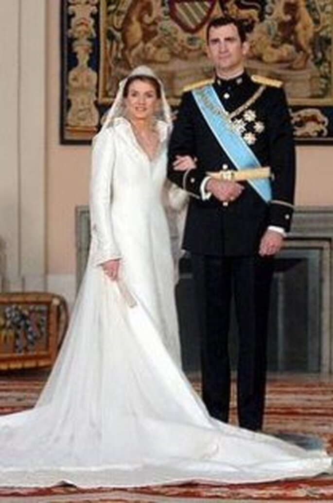 Doña Letizia y el Príncipe Felipe