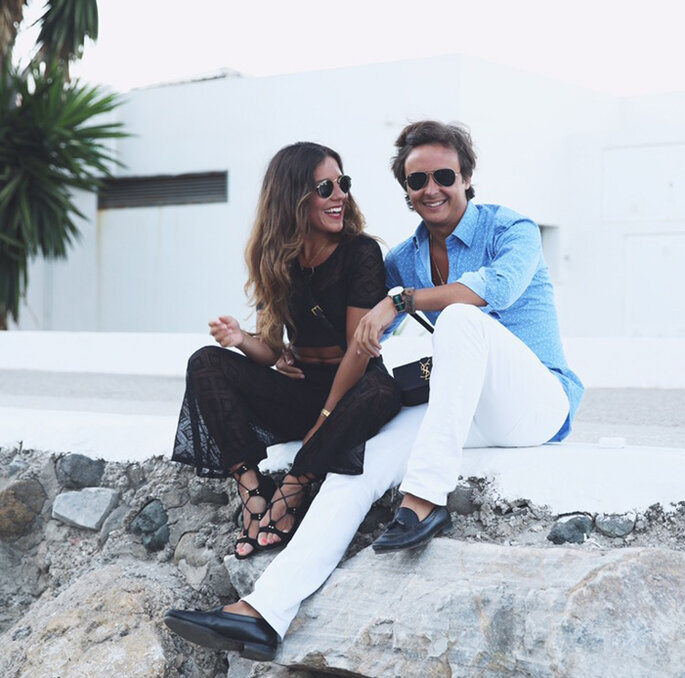 Paula y su marido. Foto Manuel Ordovás