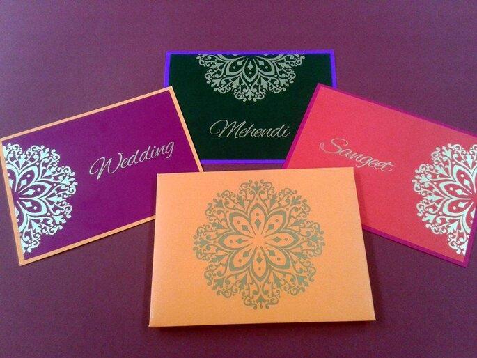 Classic Designer Wedding Cards & Stationary.
