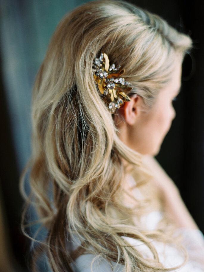 Peinados de novia 2017.