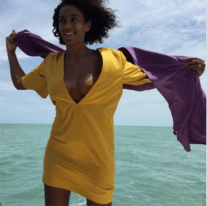 5 cosas que aprendimos de la luna de miel de Solange Knowles - Instagram oficial