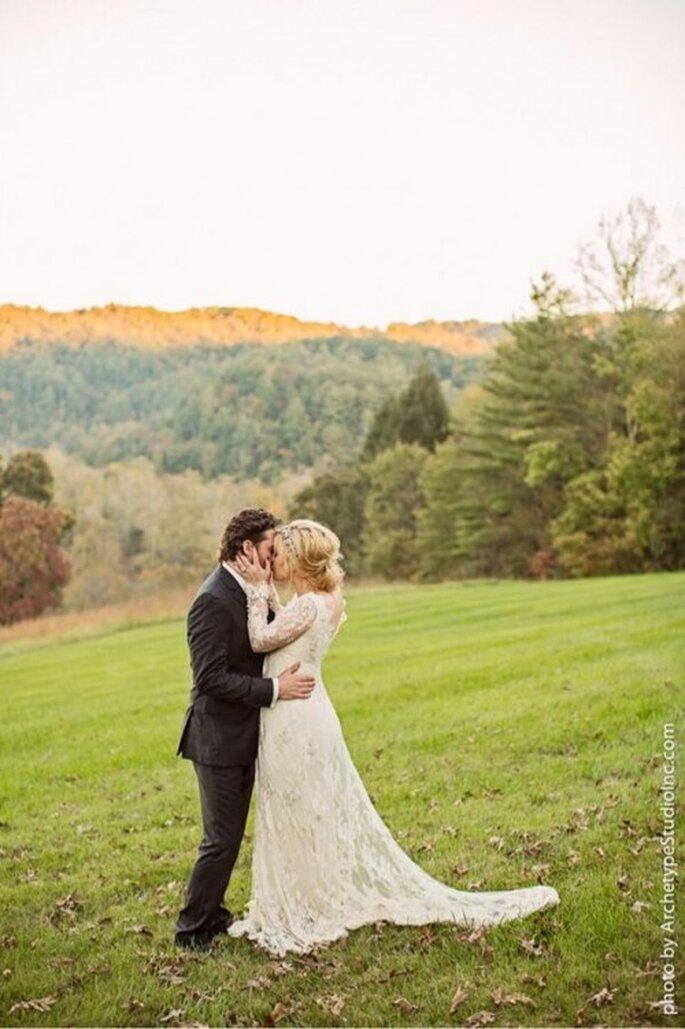 Kelly Clarkson compartió fotos de su boda con Brandon Blackstock - Foto Kelly Clarkson Twitter