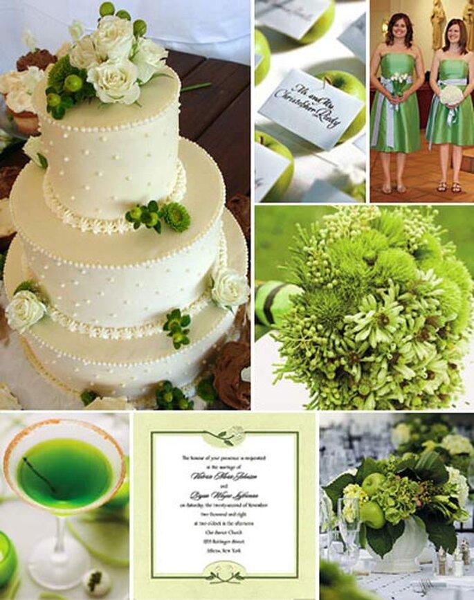 Desde el pastel, el bouquet hasta la vestimenta de las madrinas