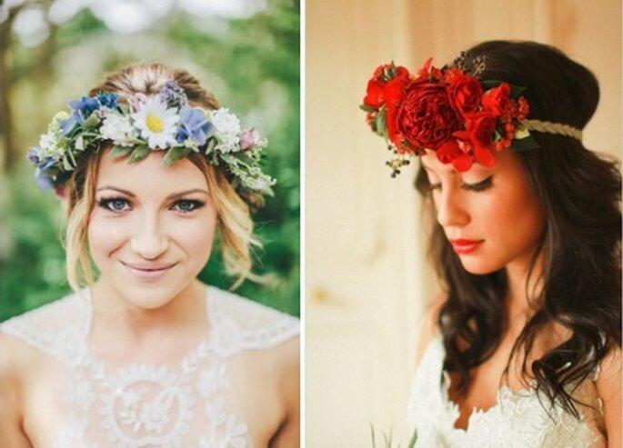 Fontes: Style Me Pretty; Wedding Chicks: Elegant Valentine's Inspired Bride and Groom Looks