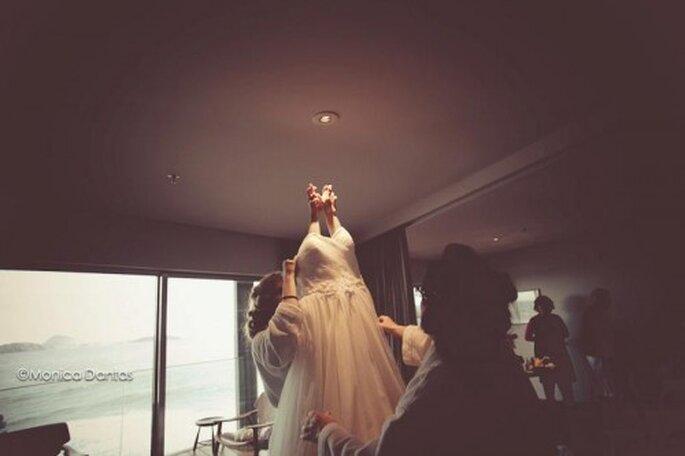 Trouver sa robe de mariée, une mission pas forcément facile... Photo: Monica Dantas
