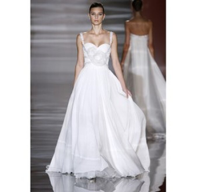 Vestido de novia Elie Saab para Leo