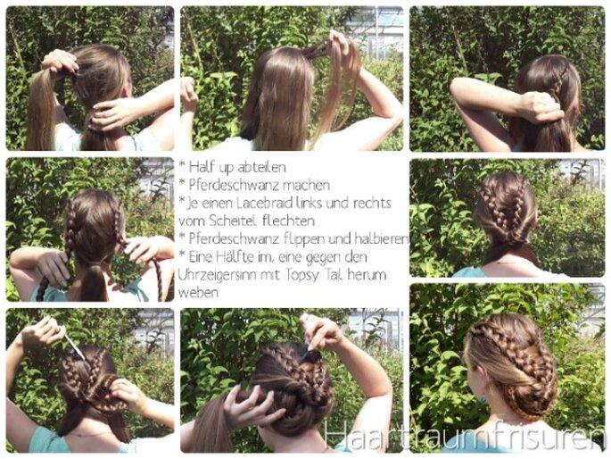 Anleitung zur Frisur