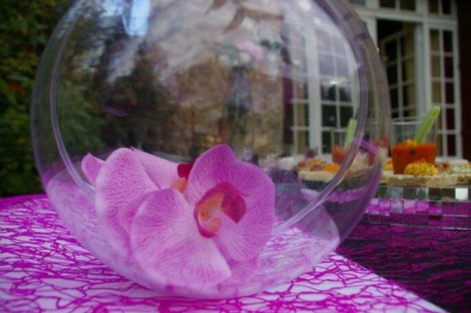 Idées déco pour donner une touche exotique à votre mariage - Photo : Globe Traiteur