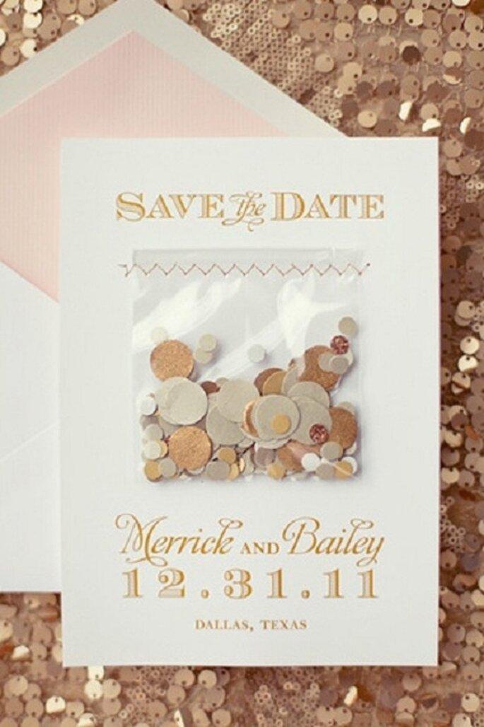 Invitaciones para boda. Foto de NBarrett Photography.