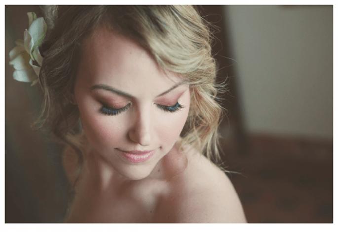 8 claves para lucir más joven con tu maquillaje de novia - Foto Stephanie Williams