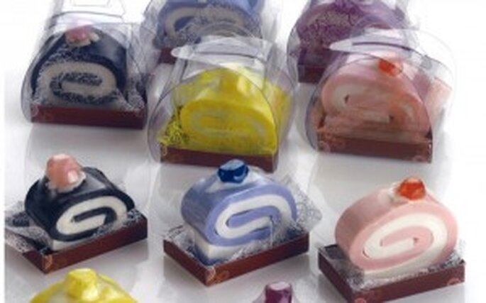 Detalles de boda - Pasteles de jabón