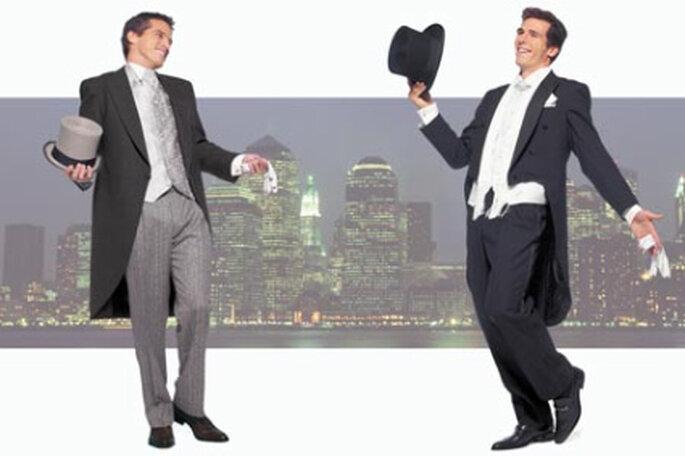 Tu pareja puede elegir lucir elegante o tenebroso con algún disfraz. Foto: www.dressspace.com