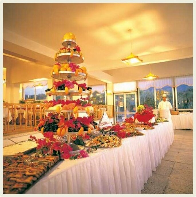 El brunch es ideal cuando la boda es en la mañana