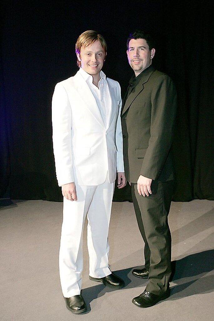 Sänger Ross Antony und Opernsänger Paul Reeves – Foto: Andrea Weihs via Facebook
