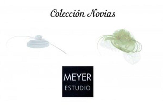 Nueva colección de tocados para novias de Michel Meyer