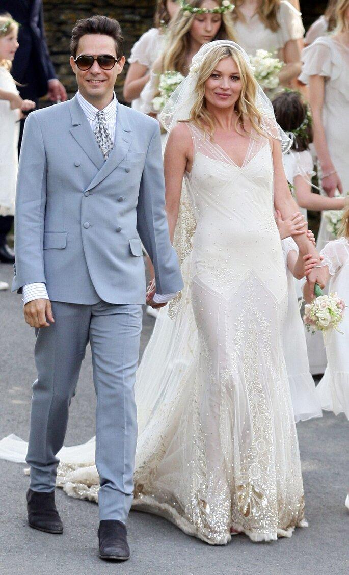 Kate Moss y Jamie Hince. Foto: Gtres
