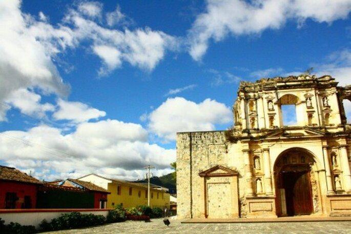 Luna de miel en Guatemala - Foto Antigua Guatemala Facebook
