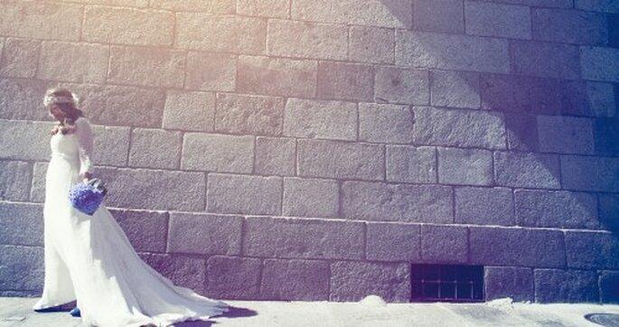 Novia solitaria y triste Foto: MasDos